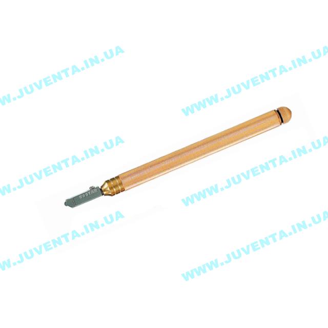 """Стеклорез масляный  """"K-Star"""" с металлической ручкой для стекла 3-10мм (узкий реж. элемент 138°), 308А K-STAR (Южная Корея)"""