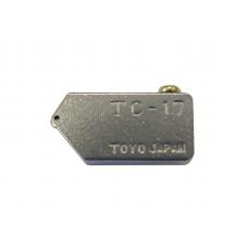 """Режущая головка """"TOYO"""" ШИРОКАЯ к стеклорезам  TC-17B (2-15 мм) 138˚, TC17H TOYO (Япония)"""